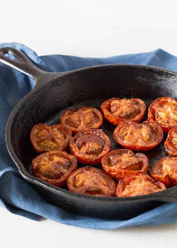 Baked Cinnamon and Allspice Tomatoes | Recipes From A Pantry