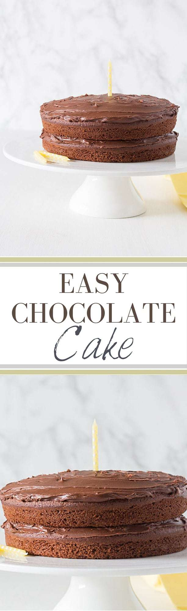 Easy Chocolate Cake Recipe | Recipes From A Pantry