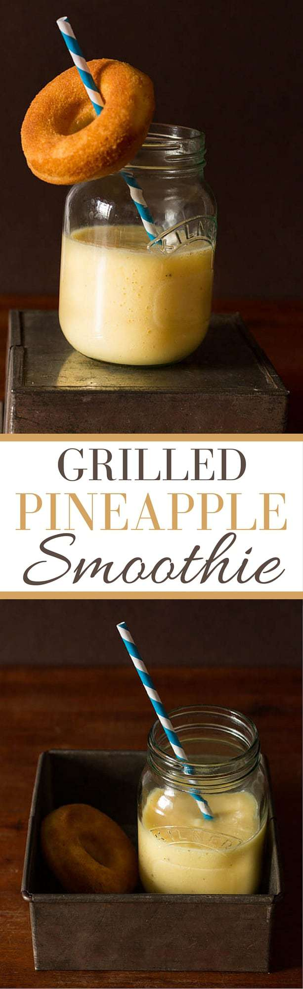 Grilled Pineapple Smoothie Recipe | Recipes From A Pantry