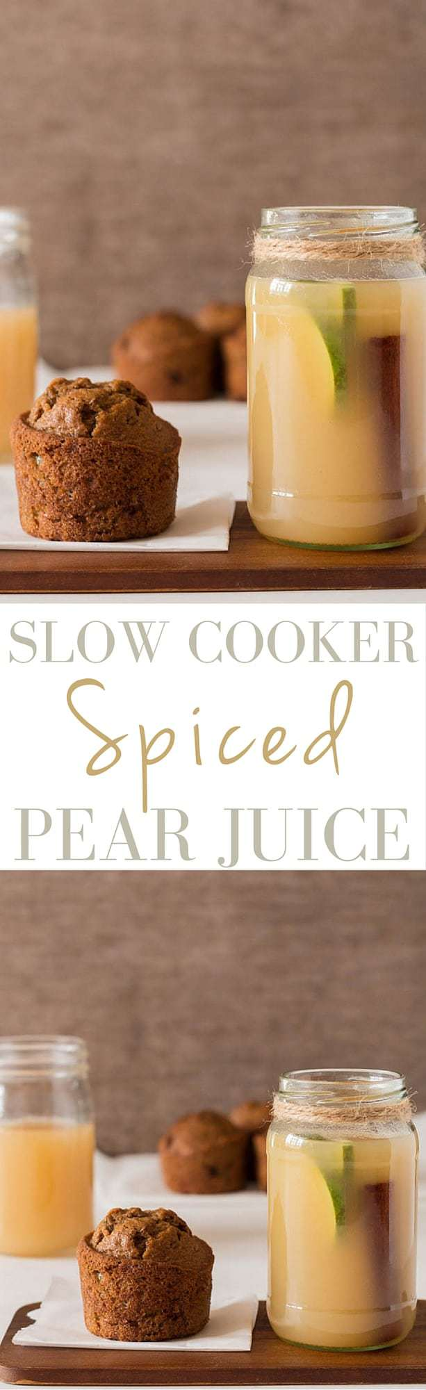 Slow Cooker Spiced Pear Juice | Recipes From A Pantry
