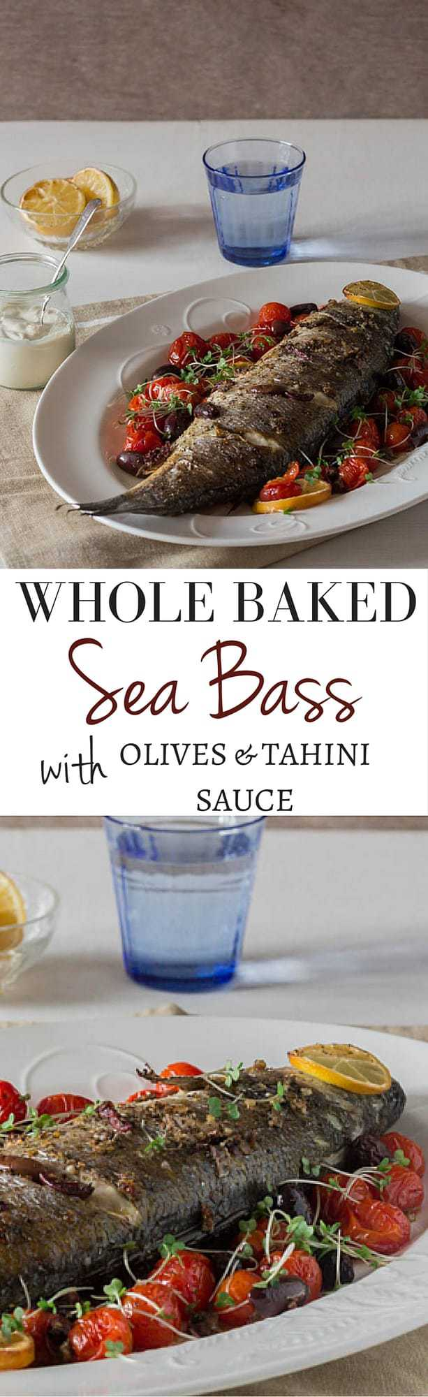 how to cook whole sea bass