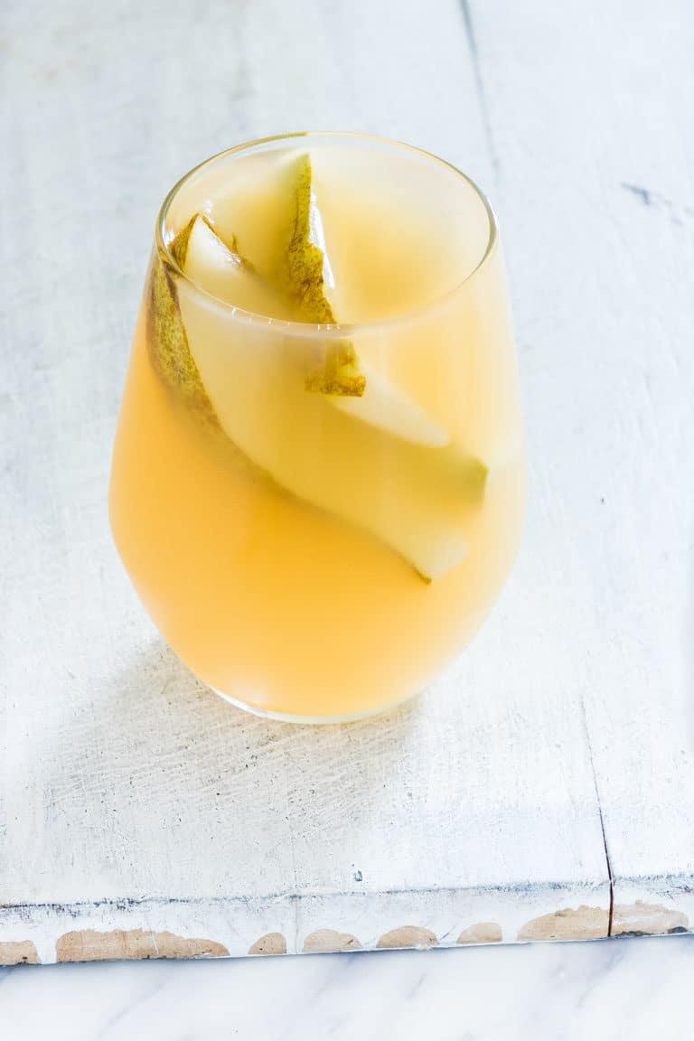 crockpot pear juice