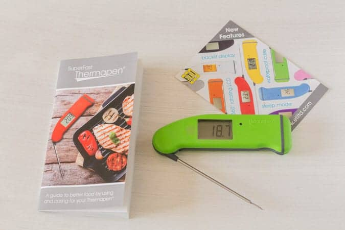 SuperFast Thermapen® 4 Cooks thermometer review | Recipes From A Pantry