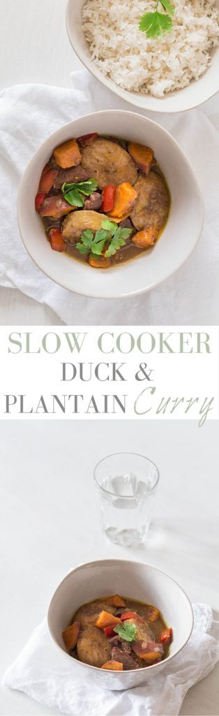 Slow Cooker Duck and Plantain Curry   Recipes From A Pantry