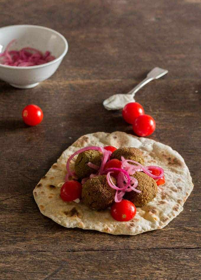 Baked Falafel Recipe | Recipes From A Pantry