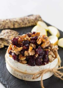 Cranberry and Chilli Honey Baked Camembert Recipe | Recipes From A Pantry