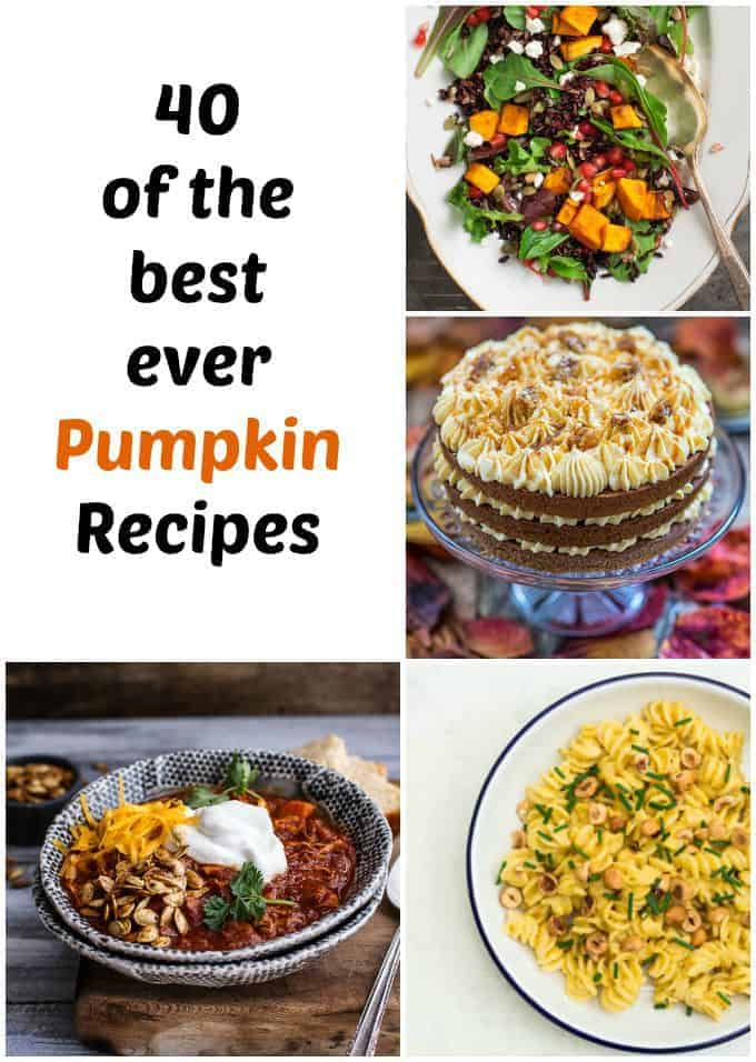 40 of the Best Ever Pumpkin Recipes   Recipes From A Pantry