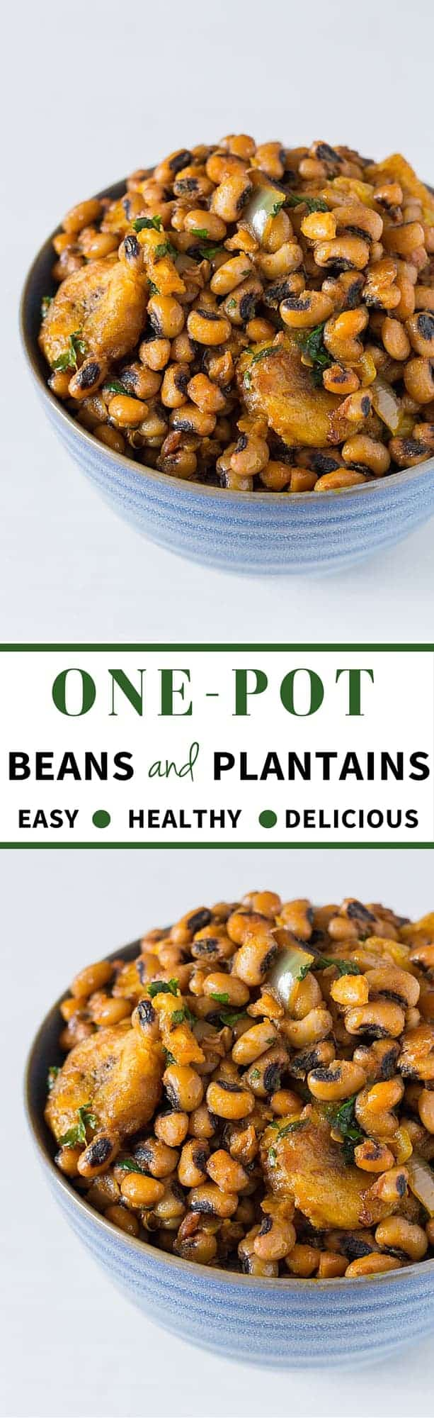 One Pot Beans and Plantains Recipes - Recipes From A Pantry