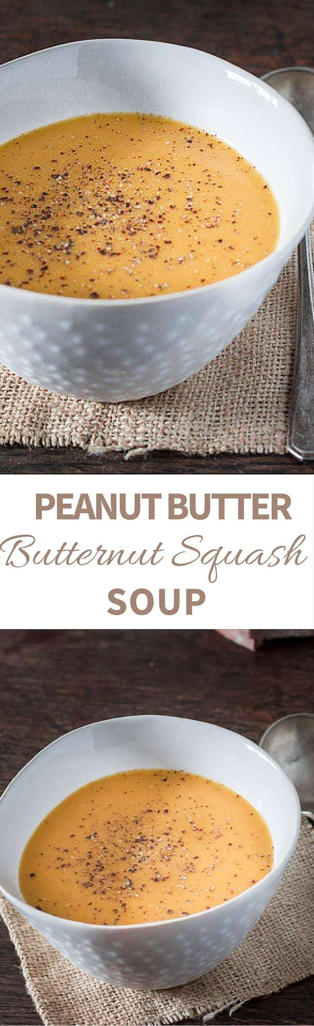 Velvety Peanut Buttery Butternut Squash Soup Recipe | Recipes From A Pantry