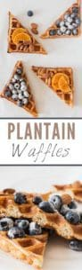 Plantain Waffles Recipe - Recipes From A Pantry