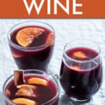 instant pot orange mulled wine