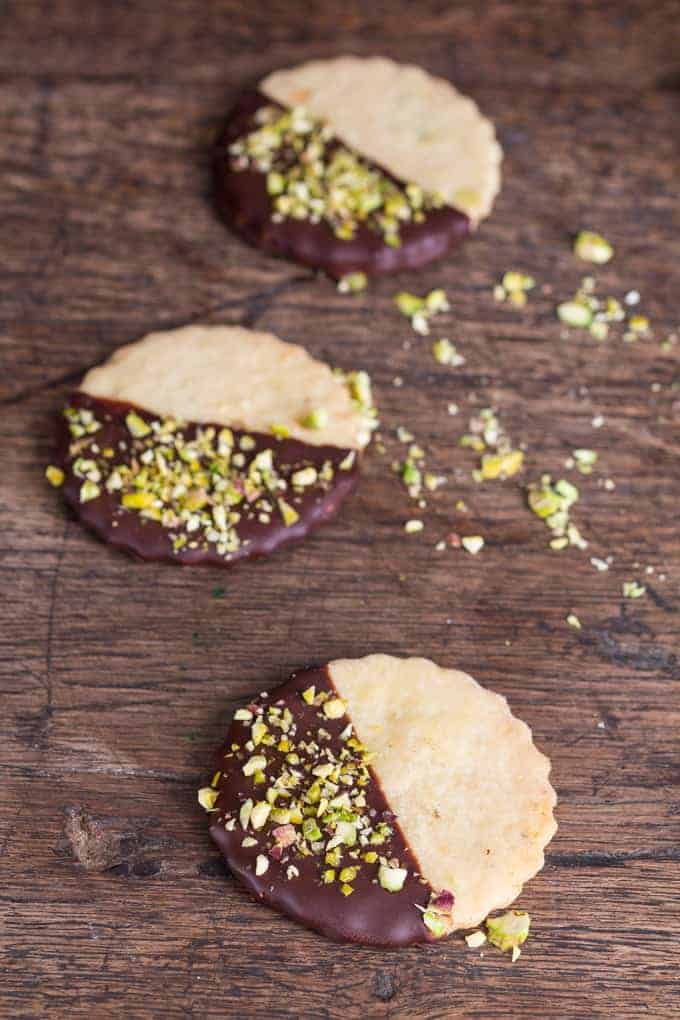 Pistachio Baileys Shortbread recipe | Recipes From A Pantry