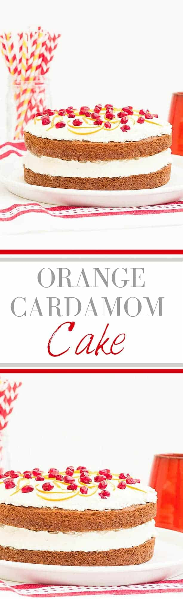 Orange Cardamom Cake Recipe | Recipes From A Pantry