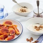 Breakfast Porridge with Roasted Blood Oranges {GF, Vegan}
