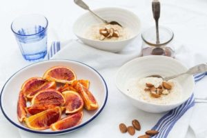 Breakfast Porridge with Roasted Blood Oranges | Recipes From A Pantry