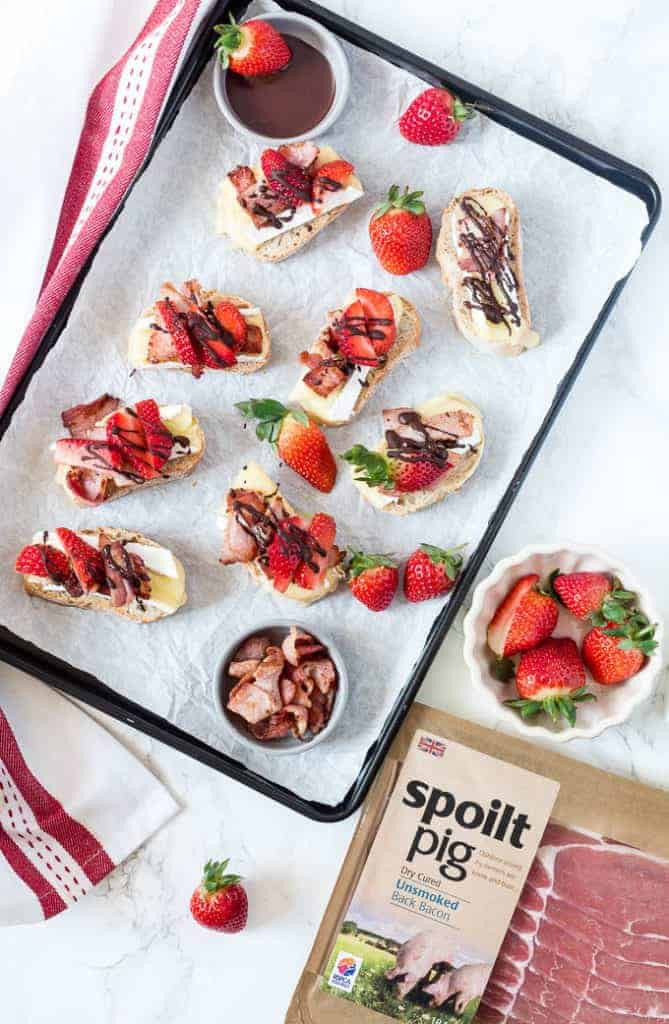 Cheese chocolate and bacon bruschetta-16 - Recipes from A Pantry