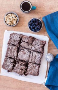 Gluten-Free Cashew Chocolate Brownies and Lime and Passion Fruit Cake {Recipe Video}