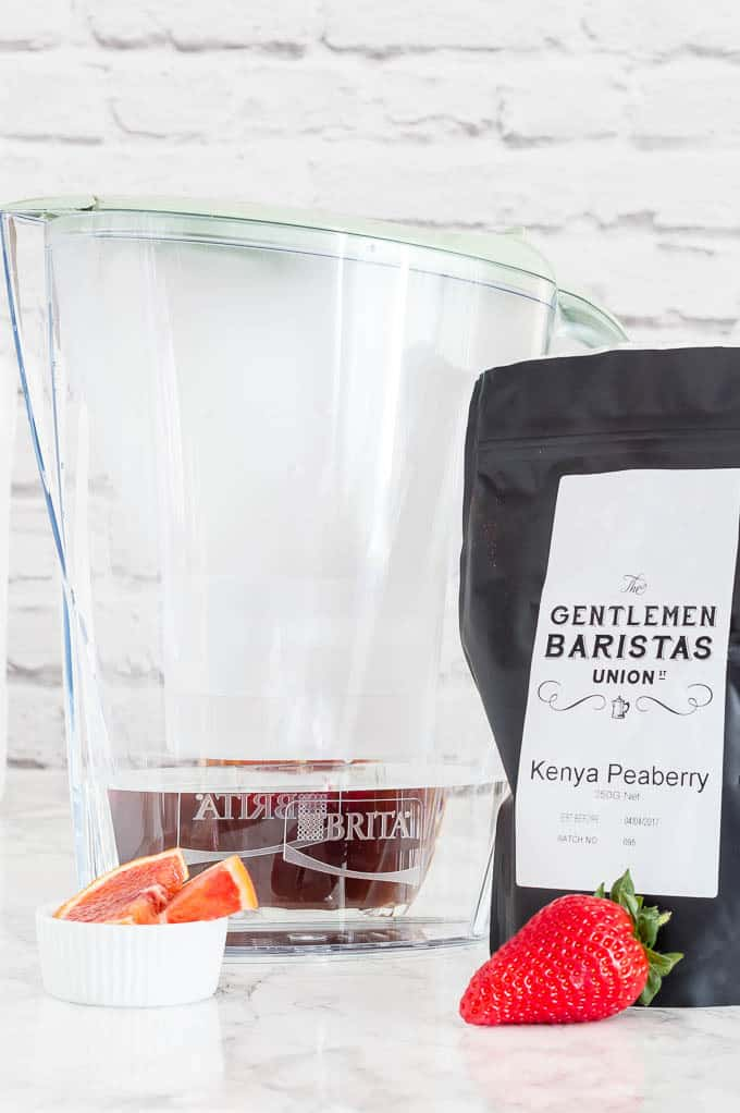 cold brew coffee berry blast-27 | Recipes From A Pantry