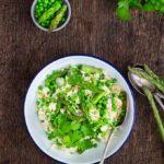 Creamy Asparagus Risotto {GF}