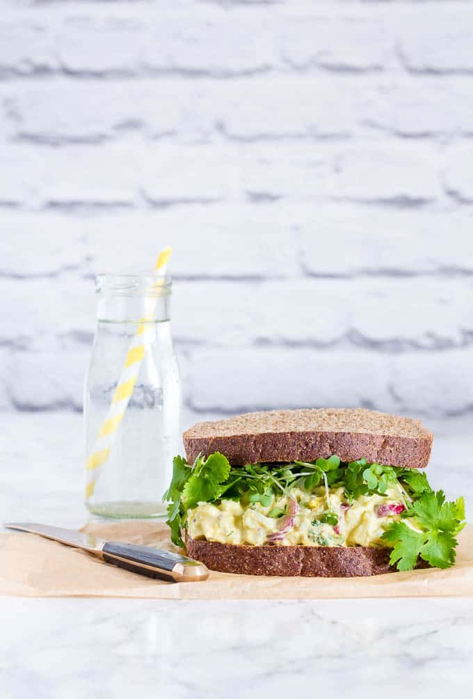 Egg mayonnaise sandwich 2-7 | Recipes From A Pantry