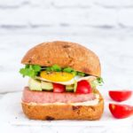 Grilled SPAM Breakfast Sandwich – West African Flavours