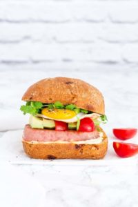 Grilled SPAM Breakfast Sandwich-9 | Recipes From A Pantry