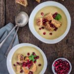 Coconut, Parsnip and Apple Soup {GF, Vegan}