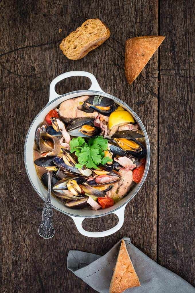 Smoked cornish fish stew-7   Recipes From A Pantry
