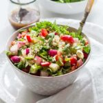 A Summer Herbed Quinoa Salad {GF, Vegan}