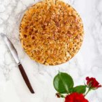 Toscakaka – Swedish Almond Cake With Caramel Almonds