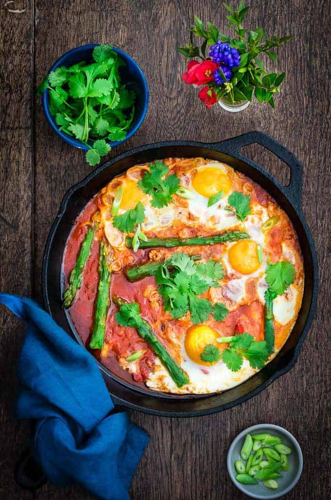asparagus shakshuka | Recipes From A Pantry