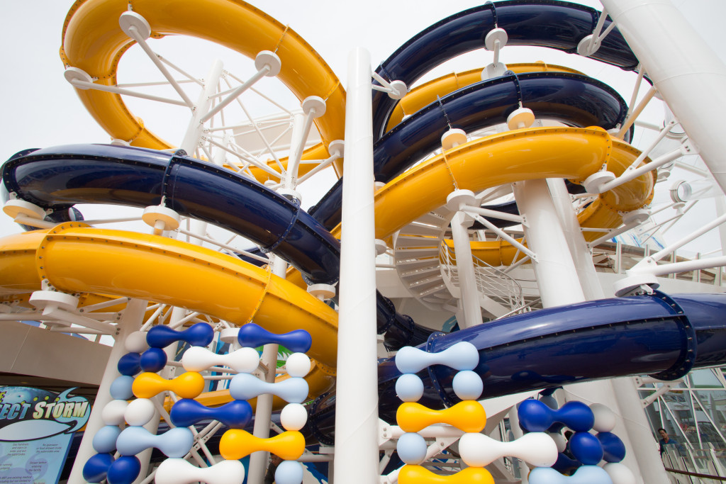 Royal Caribbean Harmony of the Seas Review The Perfect Storm Water slide| Recipes From A Pantry