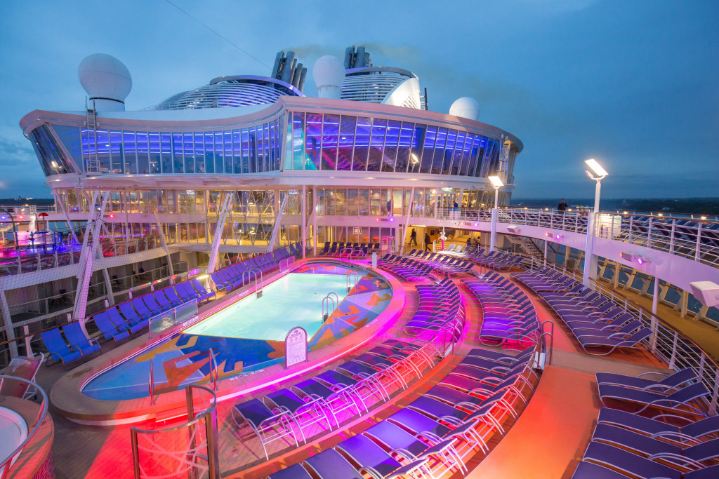 Royal Caribbean Harmony of the Seas Review Pool Deck | Recipes From A Pantry