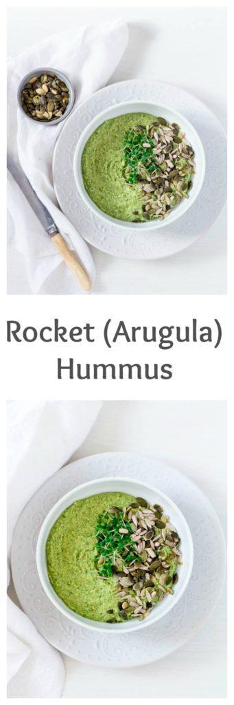 arugula hummus recipe-2 | Recipes From A Pantry