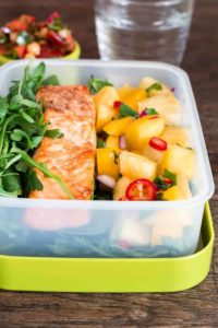 A healthy grilled salmon with a tropical salsa-9 | Recipes From A Pantry