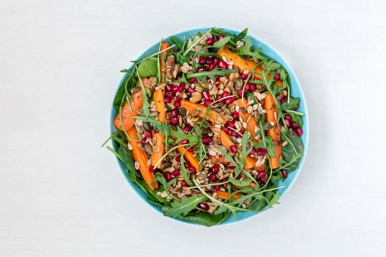 Roasted Carrot and Farro Salad Recipe-19 | Recipes From A Pantry.