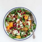 Shaved Cauliflower And Orange Salad With An Orange Tahini Dressing  {GF, Vegan}
