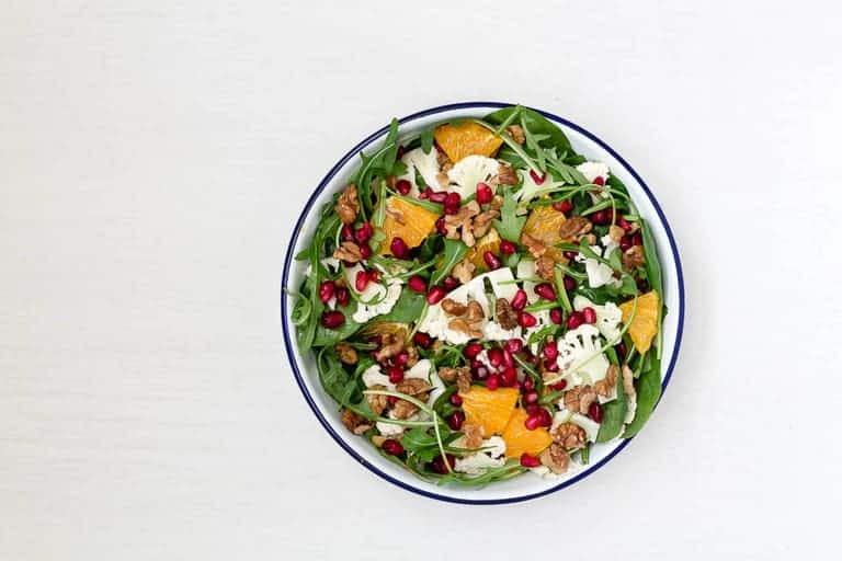 Shaved Orange and Cauliflower And Salad With An Orange Tahini Dressing-11-2 | Recipes From A Pantry