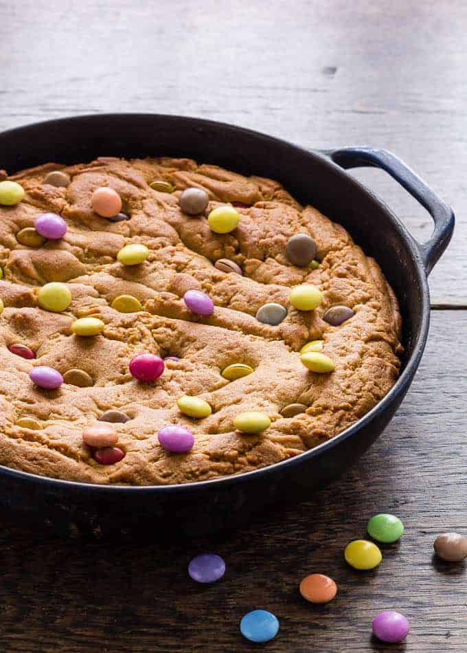 peanut butter skillet cookie recipe-39 | Recipes From A Pantry