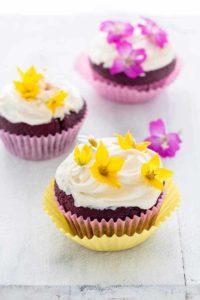 Cardamom Beetroot Chocolate Cupcakes