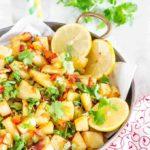 Spicy Roast Potatoes – Batata Harra {Recipe Video}  {GF}