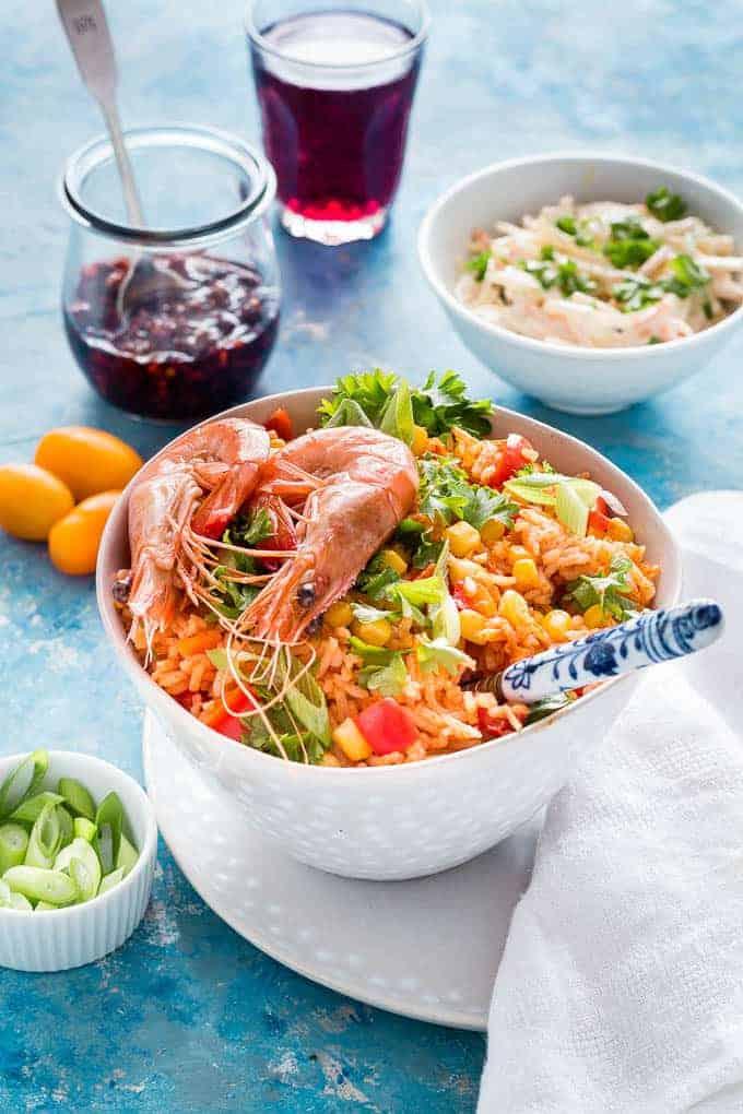 Sweetcorn Jollof Rice Recipe -49 | Recipes From A Pantry