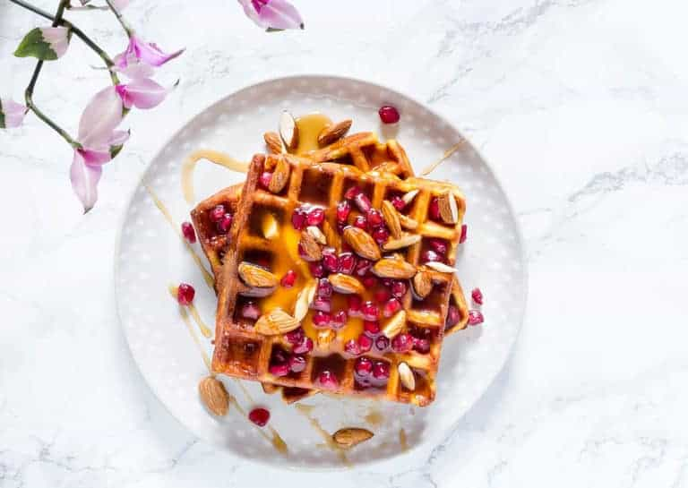 coconut mango waffles -15 | Recipes From A Pantry
