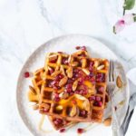 Coconut Mango Waffles – West African Flavours