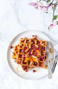 mango coconut waffles -10 | Recipes From A Pantry