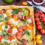 Quick Bacon Tomato Tart { Recipe Video}