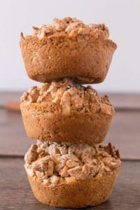 Pumpkin Pie Cashew Stresuel Granola Muffins | Recipes From A Pantry