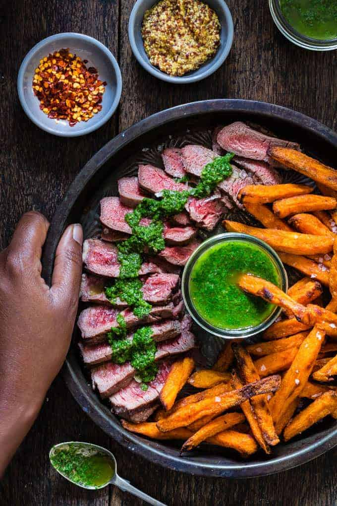 grilled-steak-with-chimichurri-12 | Recipes From A Pantry