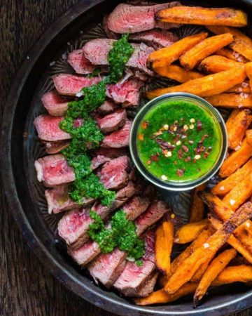 grilled-steak-with-chimichurri-recipe-13   Recipes From A Pantry