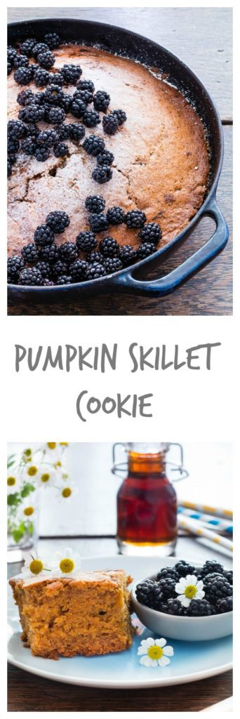 pumpkin-skillet-cookie | Recipes From A Pantry